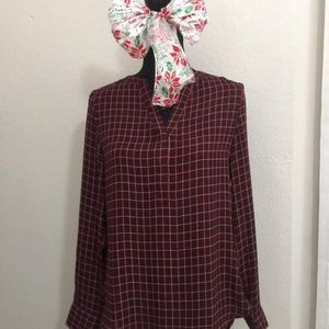 long sleeve womens blouse size S the limited.